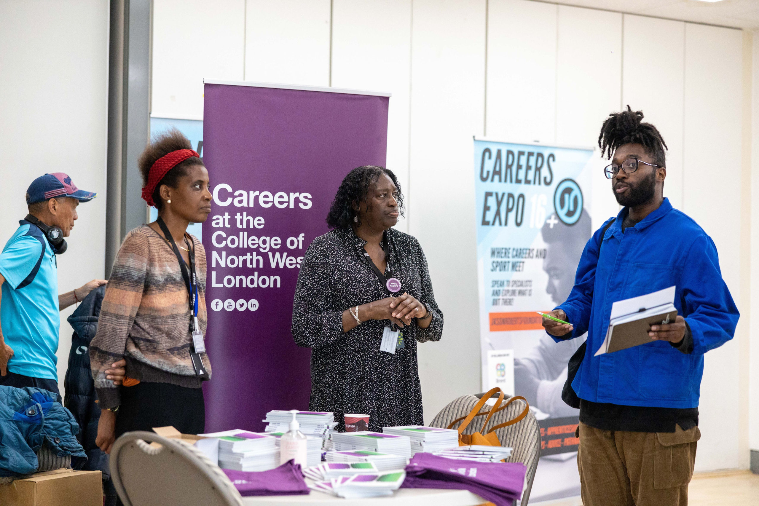 JRF Careers Expo inspires Young People in Brent
