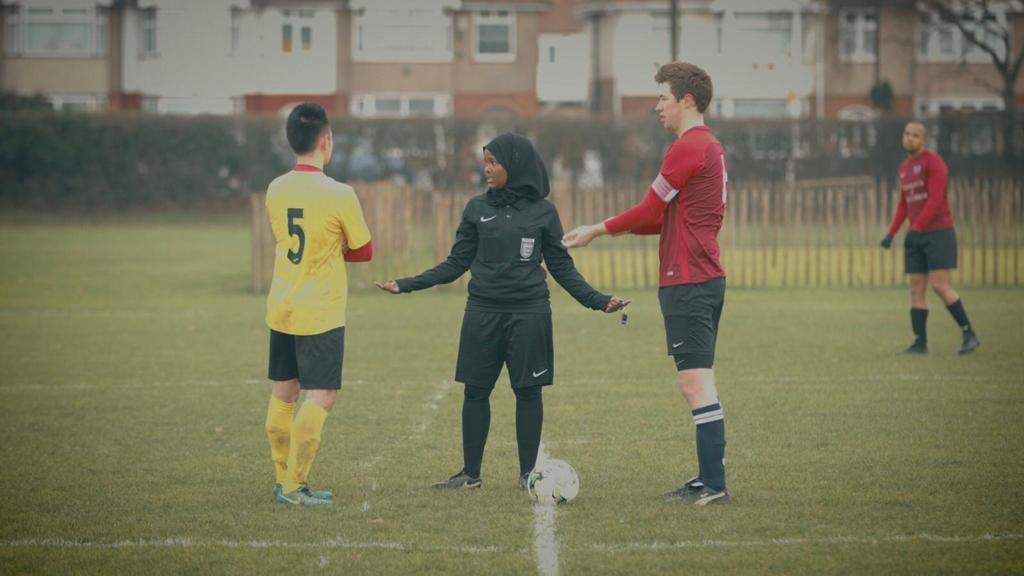 FREE Female Football Referee Taster Session