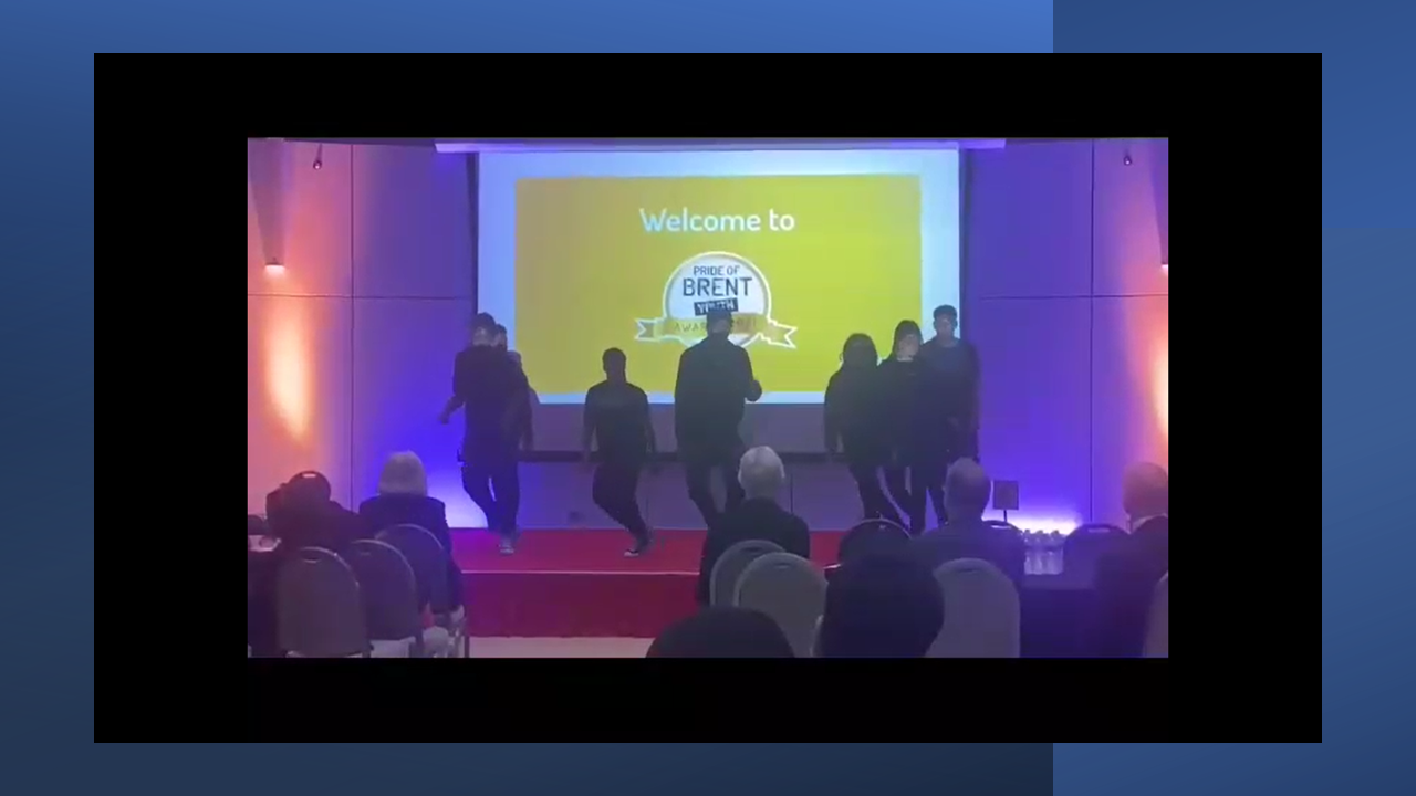 Dance Performance at Pride of Brent Youth Awards 2021