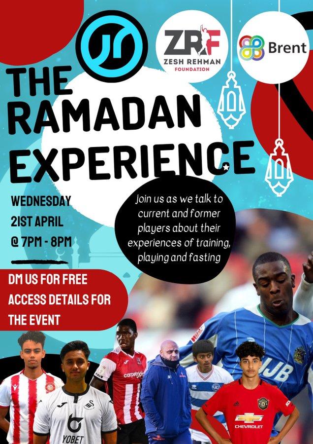 The Ramadan Experience digital flyer