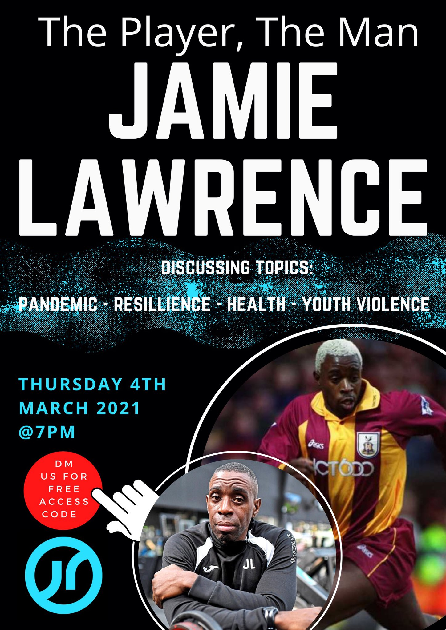 Jamie Lawrence digital flyer
