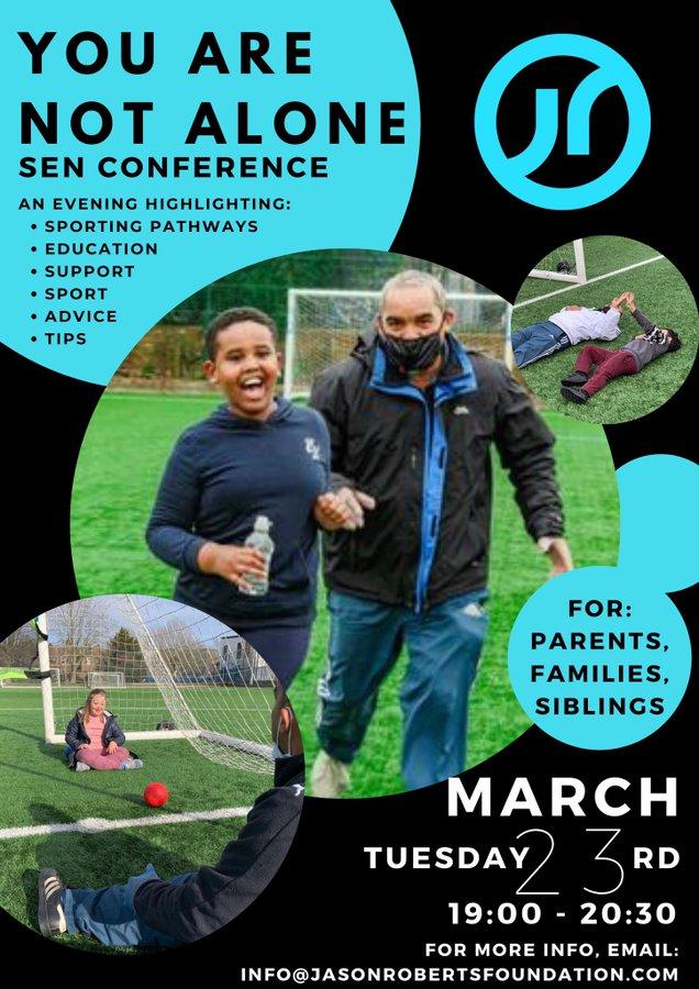 SEND conference digital flyer